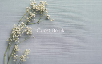 The Engagement Guestbook