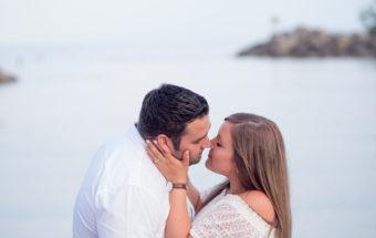 Scarborough Bluffs Engagement Photos - Nicole & Jamie