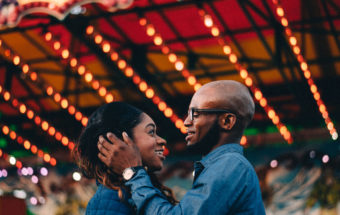 Brooklin Spring Fair Engagement Photos - Rashida & Germaine