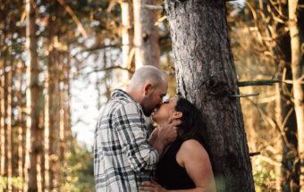 Alliston Engagement Photos at Earl Rowe Provincial Park