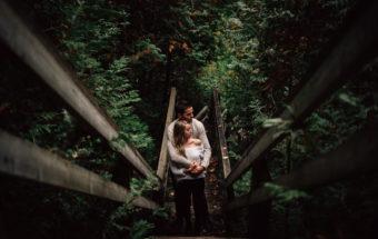 Fall Couple Photos at Heber - Durham Region Photographers